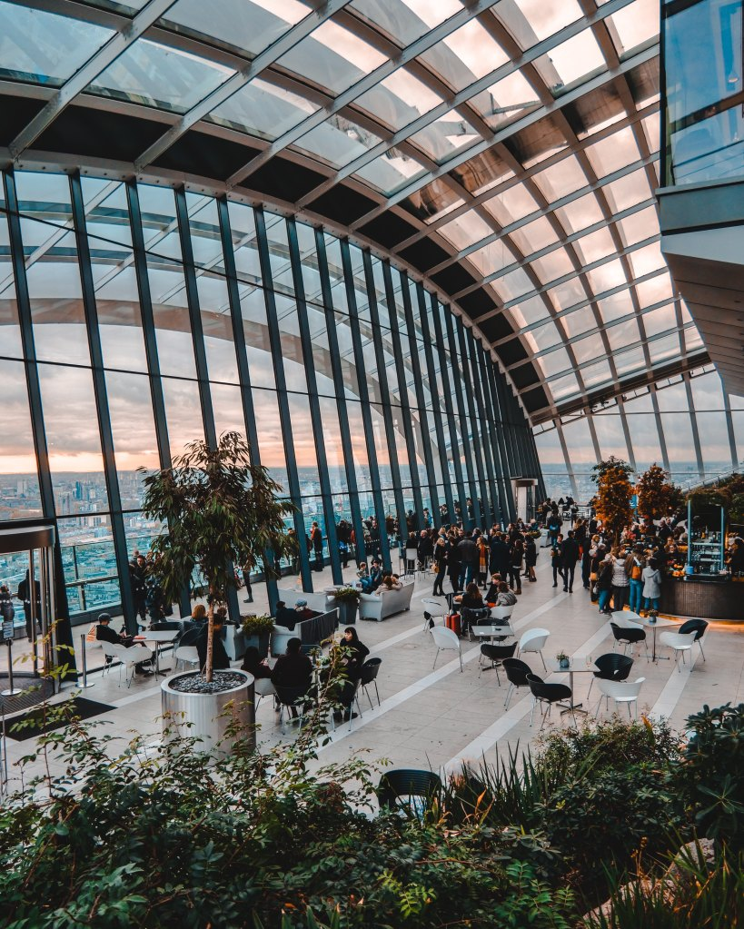 Sky Garden - photo by Matthew Foulds